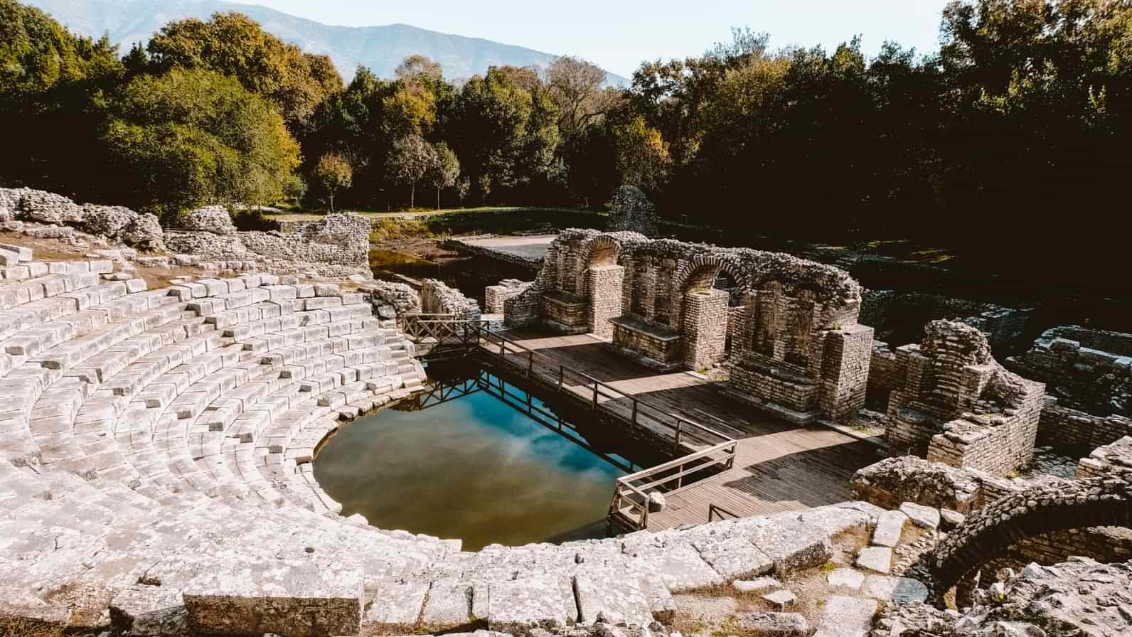 Butrint UNESCO World Heritage Site.