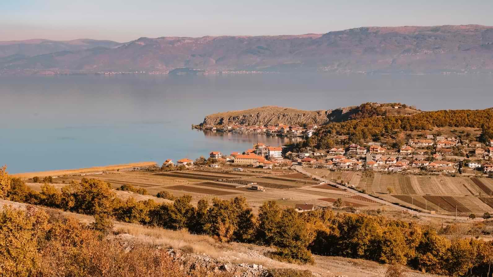 Ohrid Region UNESCO World Heritage Site in Korçë, Albania